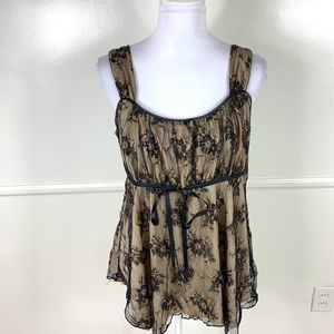 Lane Bryant Lace Tank Top Womens 14